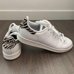 Adidas Originals Stan Smith sneakers in zebra trim